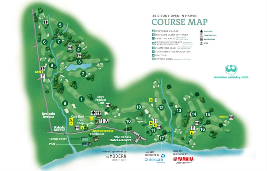 sony open course map