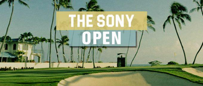sony open fantasy golf