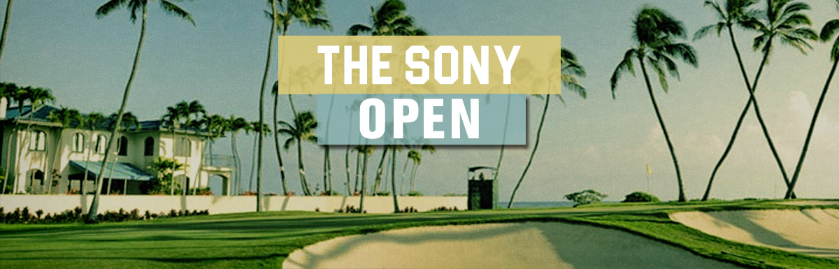 2018 Sony Open Fantasy Golf Picks