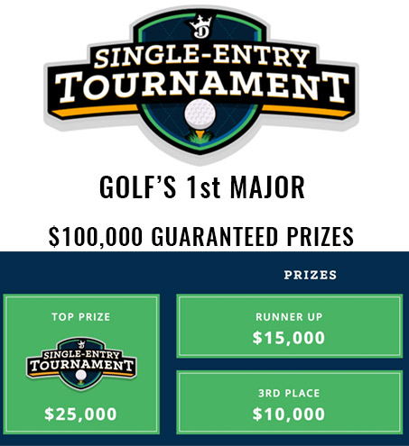 draftkings golf promo