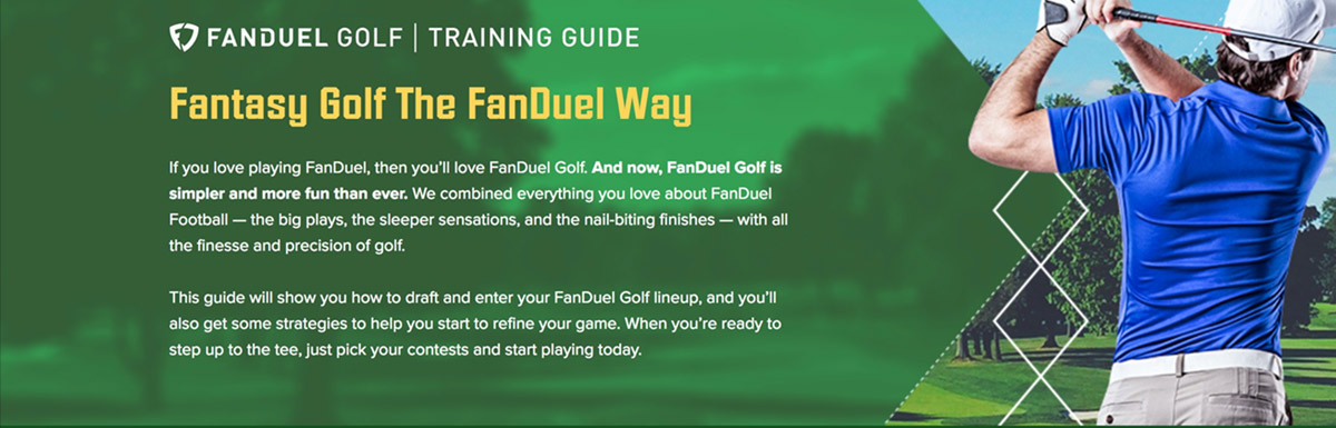How To Play Fanduel Fantasy Golf